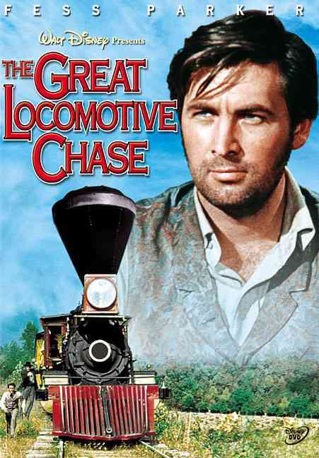 GREAT LOCOMOTIVE CHASE BY PARKER,FESS (DVD)